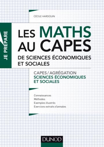 Les maths au CAPES de Sciences économiques et sociales