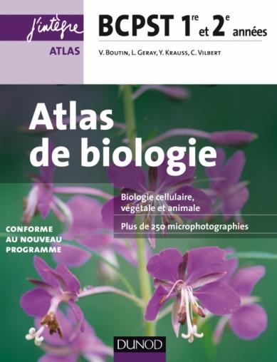Atlas de Biologie BCPST 1re et 2e années