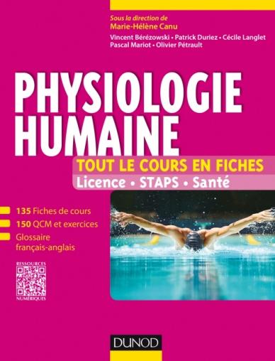 Physiologie humaine - Tout le cours en fiches