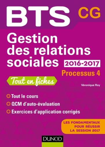 Gestion des relations sociales 2016-2017