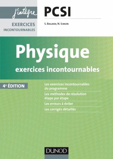 Physique Exercices incontournables PCSI
