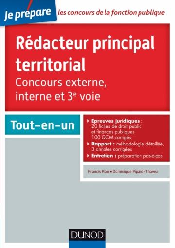 ed6489a579a Rédacteur principal territorial - Concours externe