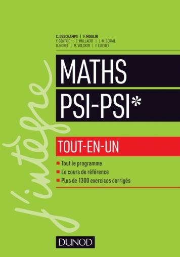 Mathématiques tout-en-un PSI / PSI*