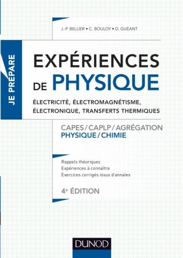 Exp U00e9riences De Physique