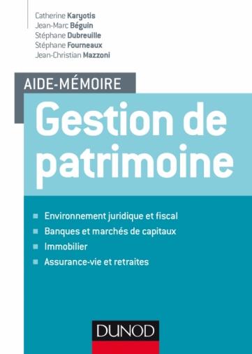 0be88a1bb38 Aide-mémoire - Gestion de patrimoine - Livre Banque et Assurances de ...