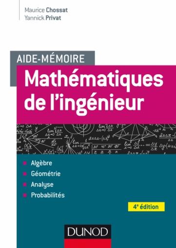 Aide-mémoire - Mathématiques de l'ingénieur