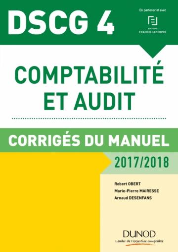 DSCG 4 - Comptabilité et audit - 2017/2018