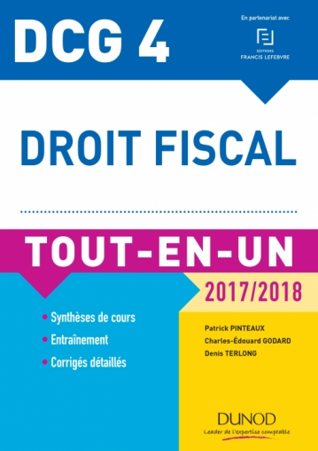 DCG 4 - Droit fiscal 2017/2018