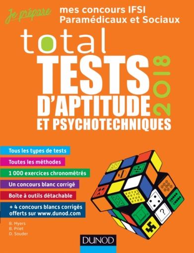 TOTAL Tests d'aptitude et psychotechniques - 2018