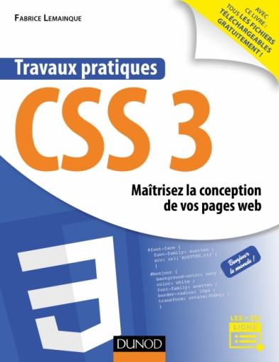 Travaux pratiques CSS3