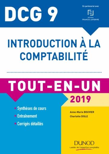 DCG 9 - Introduction à la comptabilité 2019