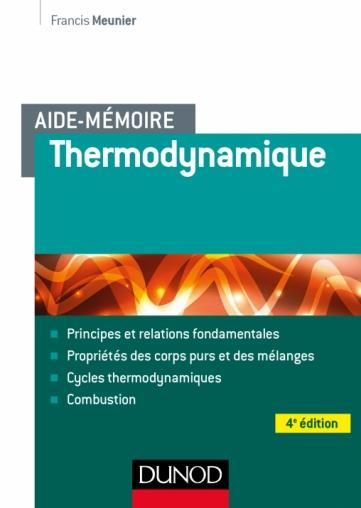 Aide-mémoire - Thermodynamique