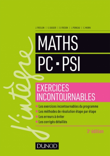 Maths PC-PSI - Exercices incontournables