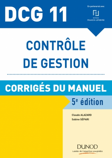 DCG 11 - Contrôle de gestion