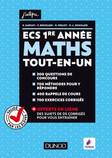 ECS 1re année - Maths - Tout-en-un