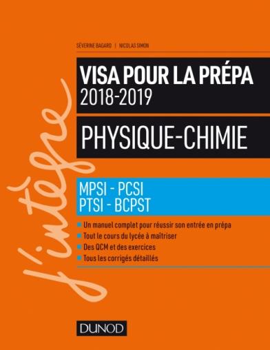 Physique-Chimie - Visa pour la prépa