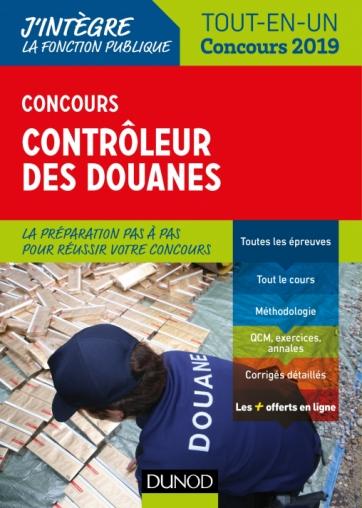 Concours Contrôleur des douanes - 2019
