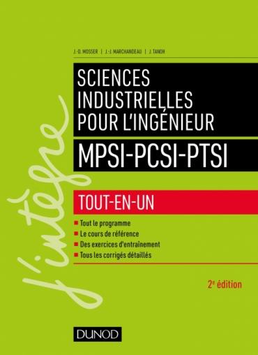 Sciences industrielles pour l'ingénieur MPSI-PCSI-PTSI