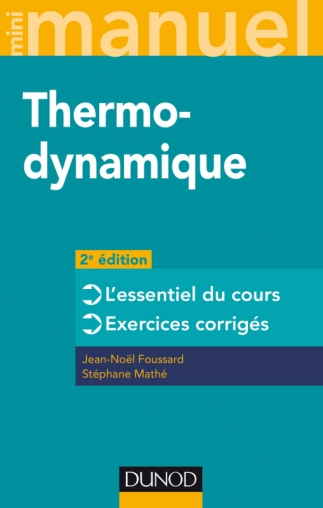 Mini manuel - Thermodynamique