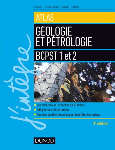 Atlas de géologie-pétrologie BCPST 1 et 2