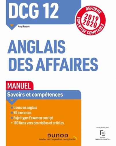 Dcg 12 Anglais Des Affaires Manuel Reforme Expertise