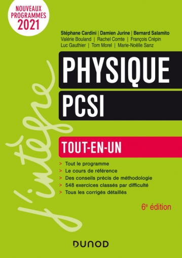 Physique PCSI - Tout-en-un - 2021