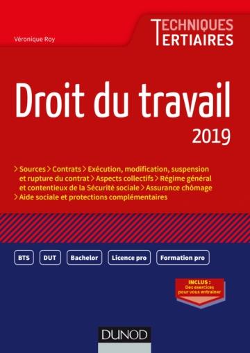 7c3e6b6c5d9 Droit du travail 2019 - Livre Ressources humaines et formation de ...