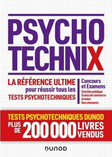 PsychotechniX - La référence ultime pour réussir les tests psychotechniques
