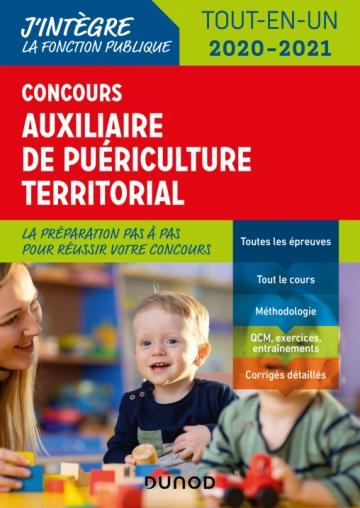 Concours Auxiliaire de puériculture territorial 2020-2021