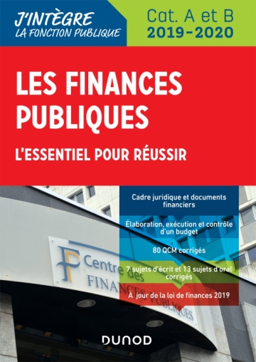 Les finances publiques 2019-2020