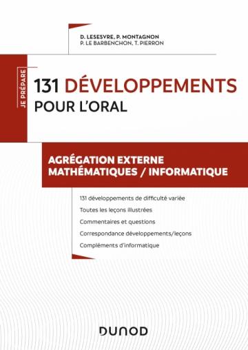 131 développements pourl'oral