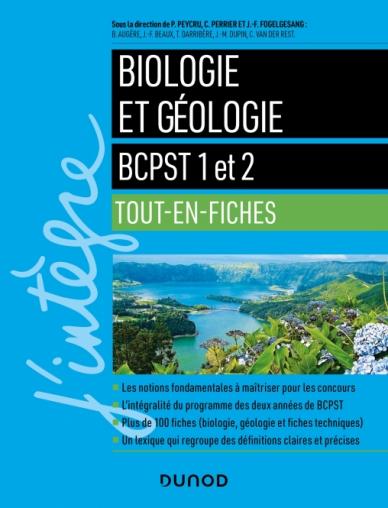 Biologie et géologie tout en fiches - BCPST 1 et 2