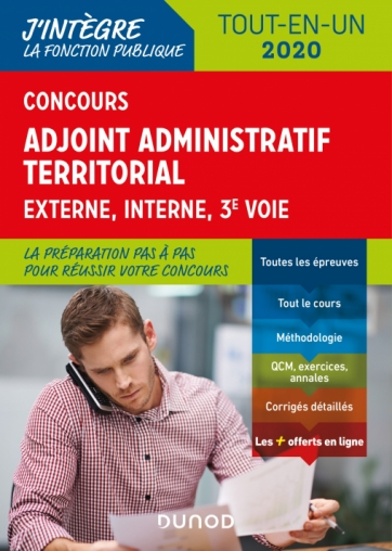 Concours Adjoint administratif territorial 2019/2020