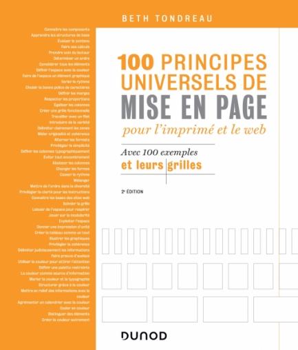 100 principes universels de mise en page pour l'imprimé et le Web