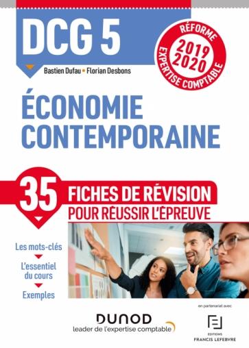 DCG 5 Economie contemporaine - Fiches de révision
