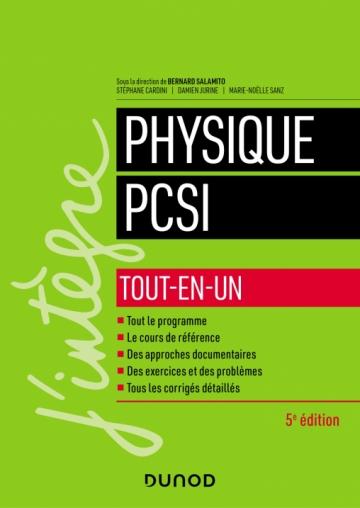 Physique PCSI - Tout-en-un