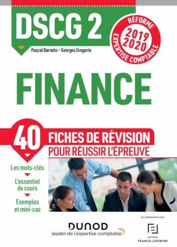 DSCG 2 - Finance - Fiches de révision
