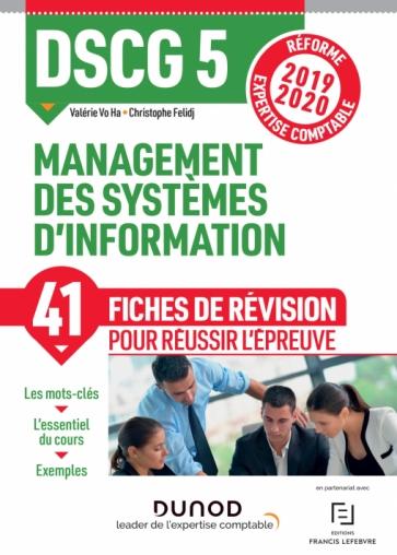 DSCG 5 Management des systèmes d'information - Fiches de révision