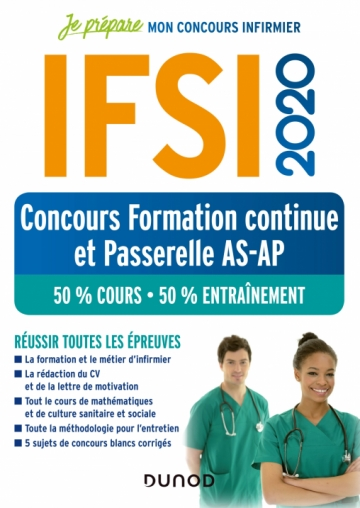 IFSI 2020 Concours Formation continue et Passerelle AS-AP