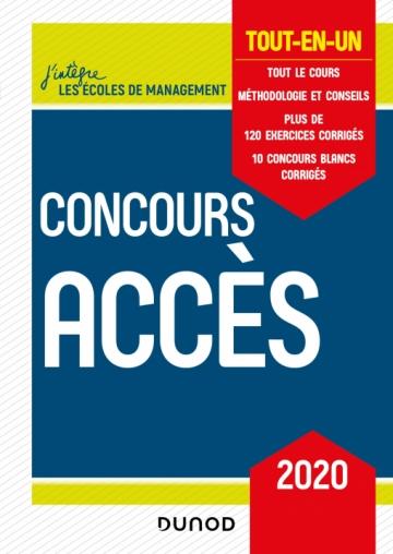 Concours Accès 2020
