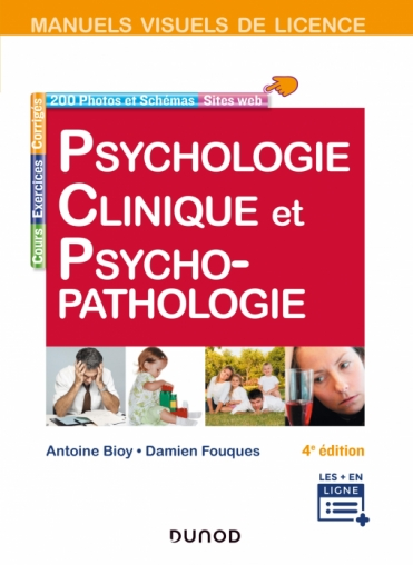 Manuel visuel de psychologie clinique et psychopathologie