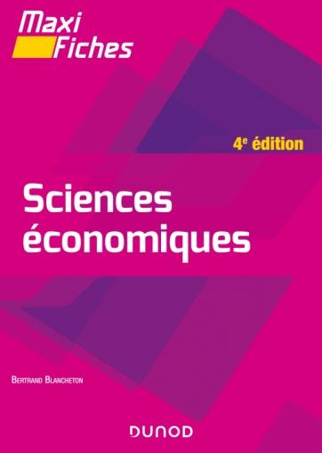 Maxi fiches - Sciences économiques