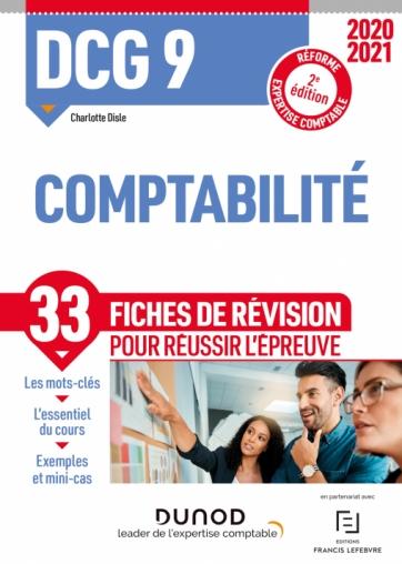 DCG 9 Comptabilité - Fiches de révision - 2020-2021