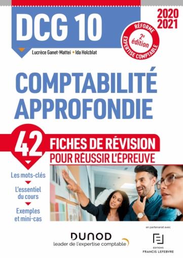 DCG 10 Comptabilité approfondie - Fiches de révision