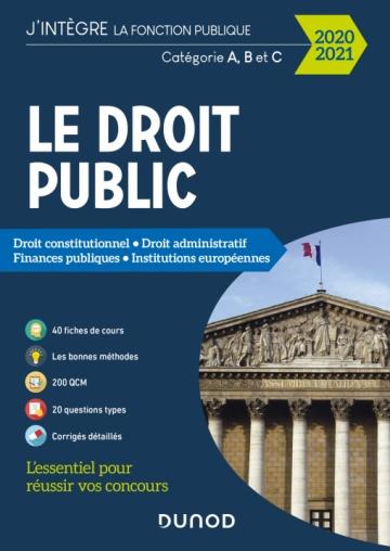 Le Droit public 2020-2021 - Catégories A, B et C