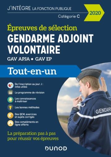 Gendarme Adjoint Volontaire 2020 Epreuves De Sélection
