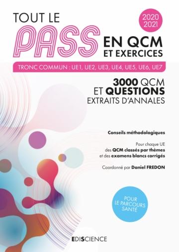 Tout le PASS en QCM et exercices 2020-2021