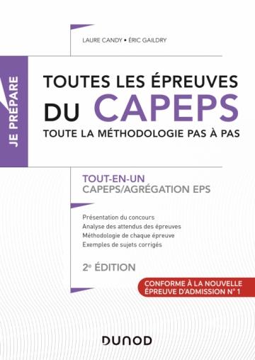 Toutes les épreuves du CAPEPS et de l'agrégation d'EPS
