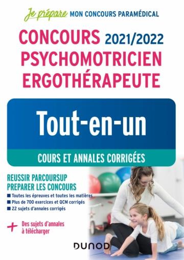 Concours 2021/2022 Psychomotricien Ergothérapeute