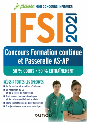 IFSI 2021 Concours Formation continue et Passerelle AS-AP
